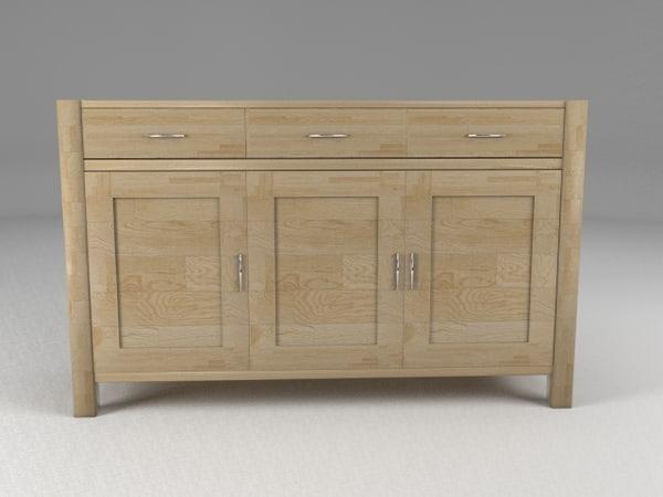 max sideboard oak