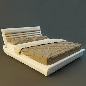 3d bed rubino treci model