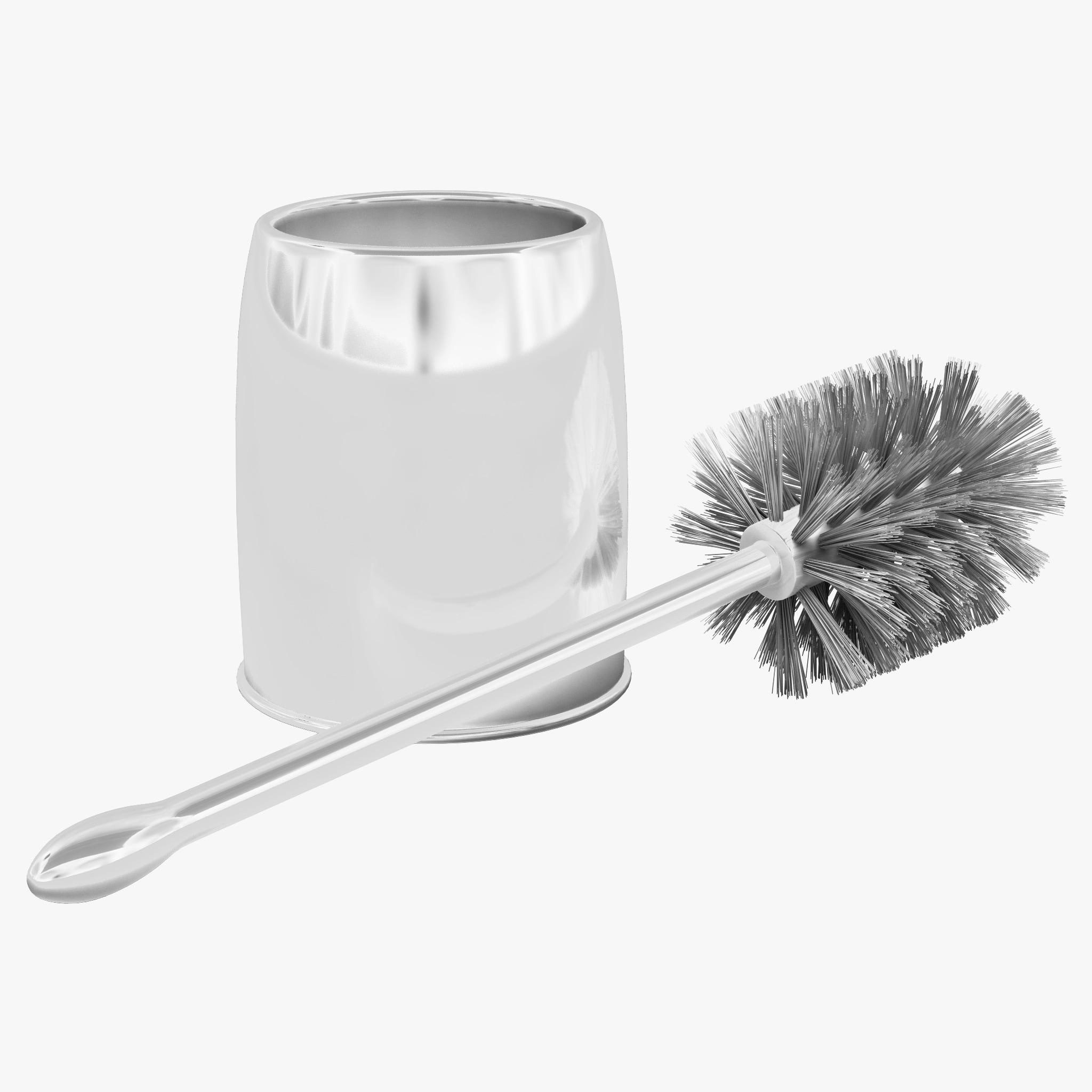 3d model casabella bowl brush set