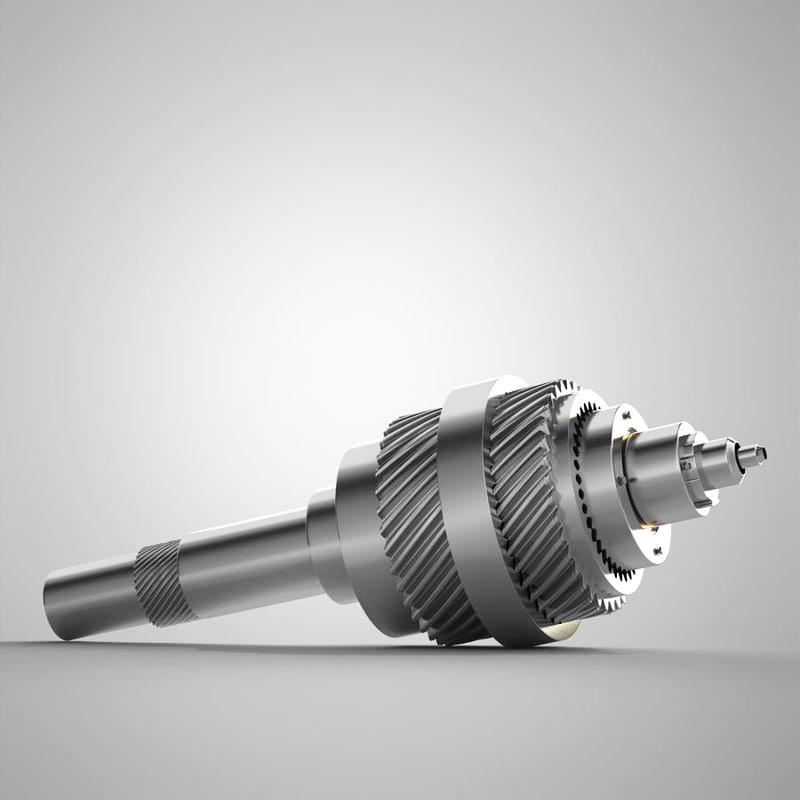 3d composite gear model