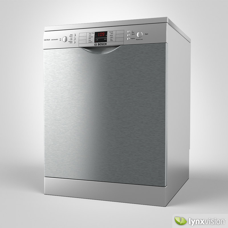 3d freestanding washer bosch model