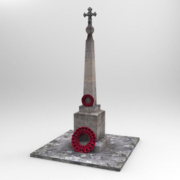 3d memorial war british