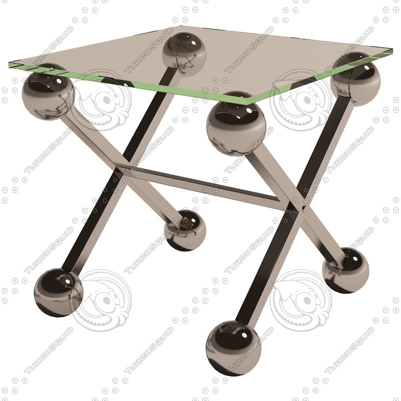 3d model eichholtz table maverick