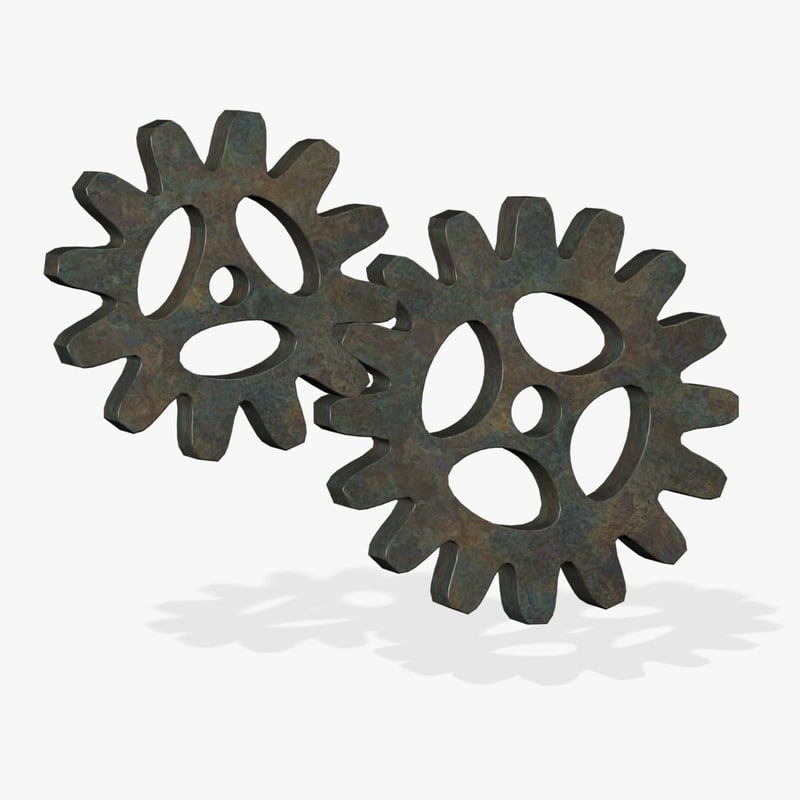 3d model metal gears fg