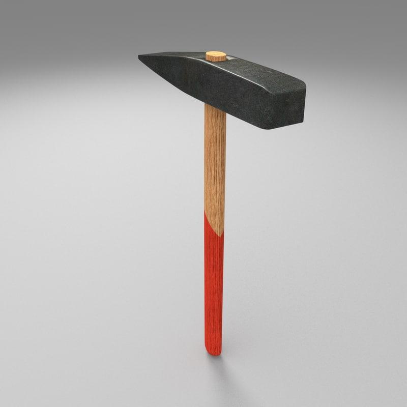 free hammer 3d model