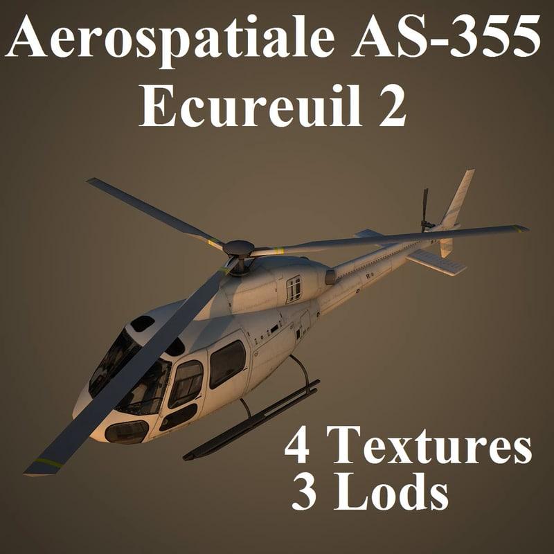 aerospatiale - ecureuil max