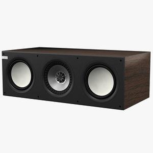 3ds max kef q200c speaker
