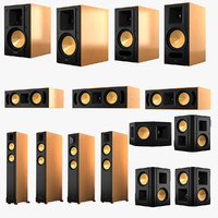 3d model klipsch reference series