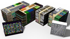 3d shelves store