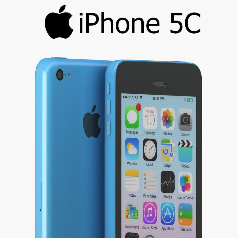 iphone 5c 3d x