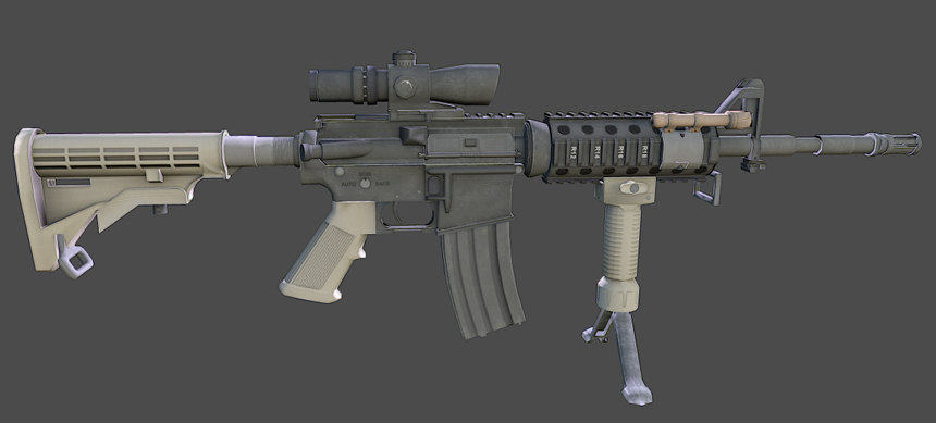 blend m4 carbine