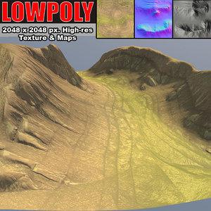 3d canyon maps terrain model