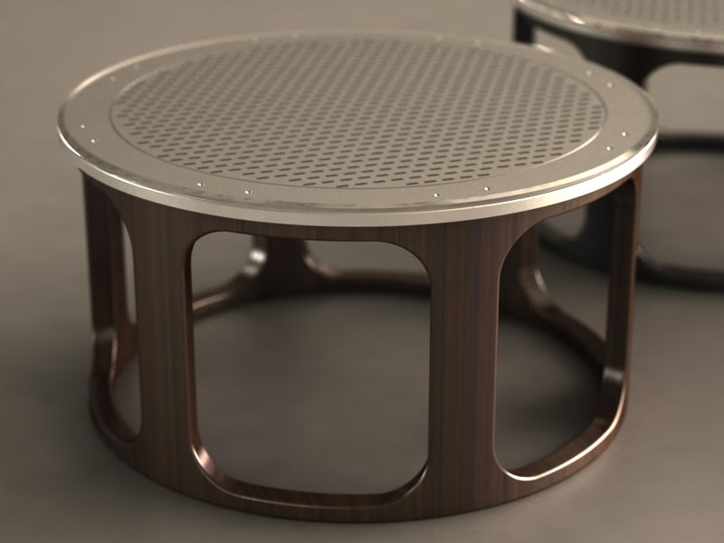 3d model table coffee