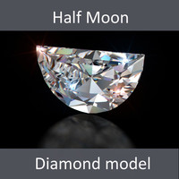 Half Moon Diamond Cut