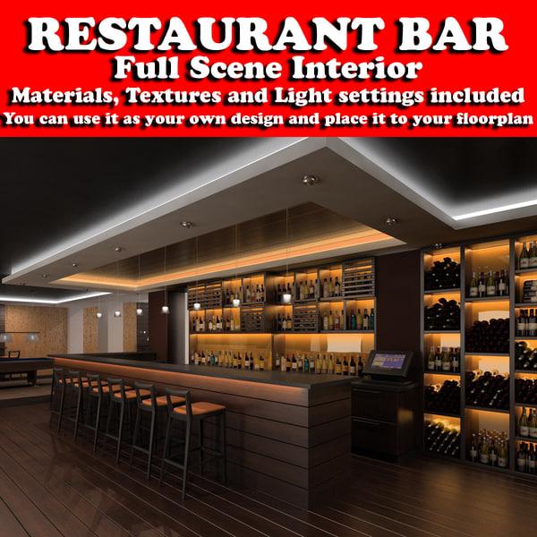 max restaurant scene interiors