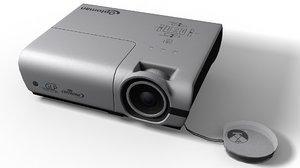 3d model projector