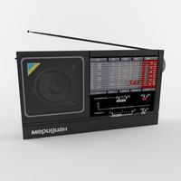 3d model radio rp-348