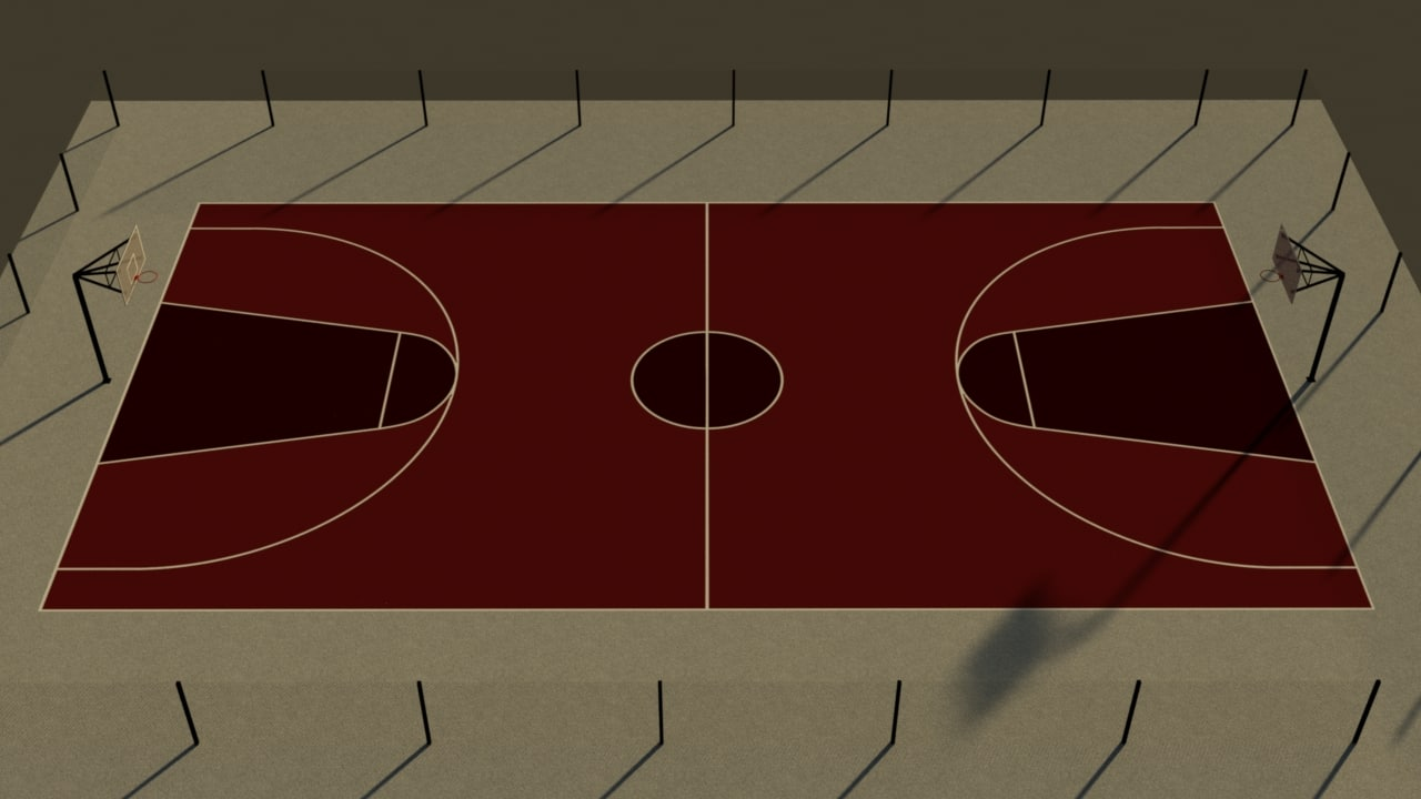 basketball court max