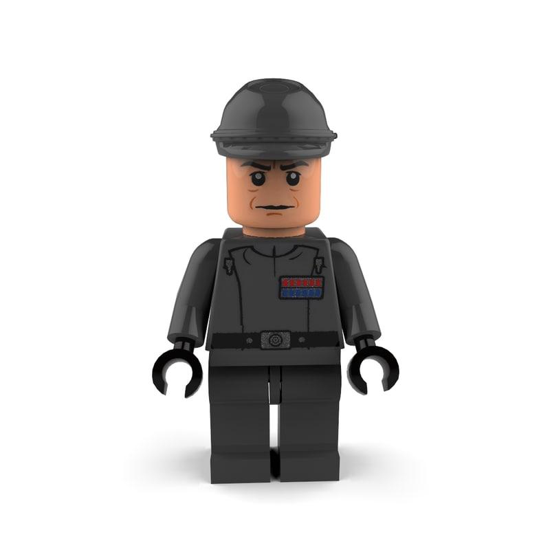 3d admiral piett model