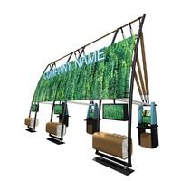 3ds arch kiosk