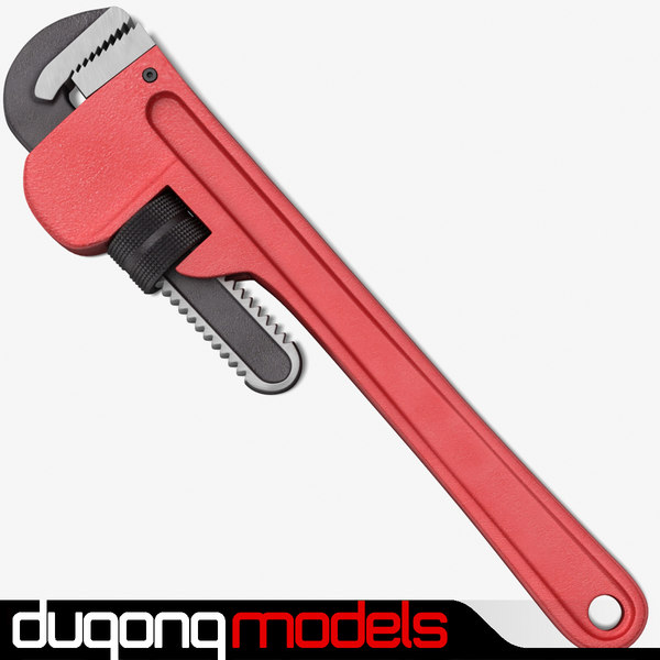 monkey wrench 3d max