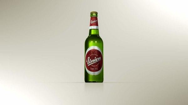 obj beer bottle