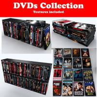 3d dvds model