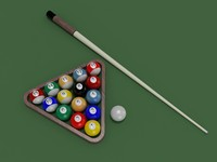 billiard ball obj