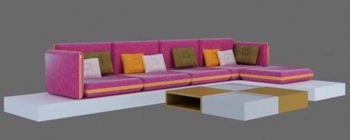modern sofa 3d ma