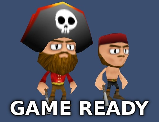 3d pirates s