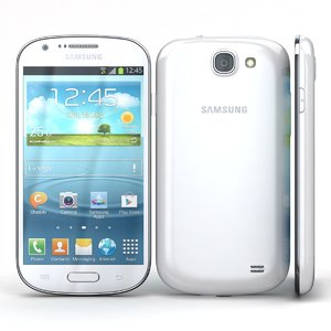 samsung galaxy express i8730 3d model