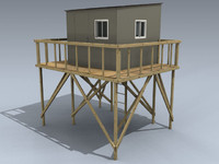 tower stand 3d model