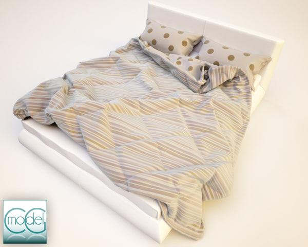 photorealistic blankets 3d c4d