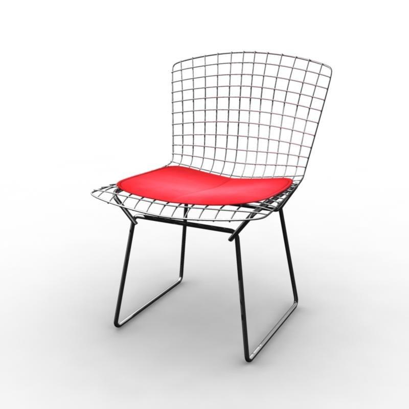 modern chair wire 3d model