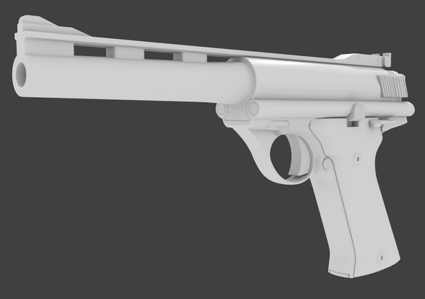 blend 44 automag pistol