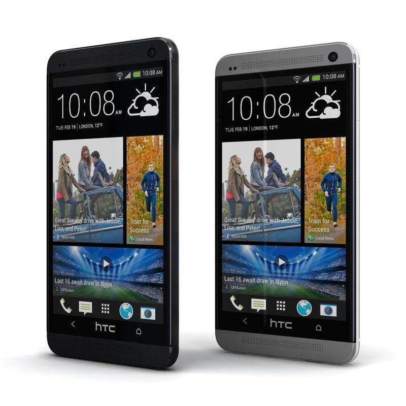 3d htc black silver cellphone