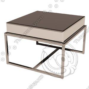 3d model eichholtz table beverly hills