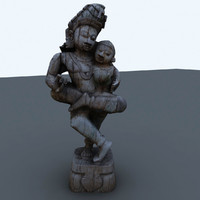 indian figure interiors 3d 3ds