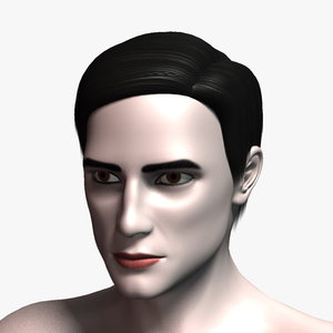 richard hair 3d model