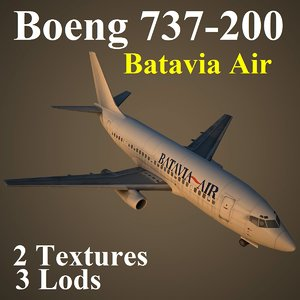 max 737-200 btv