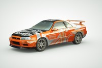 Nissan GT-R Skyline R34 2002 collection