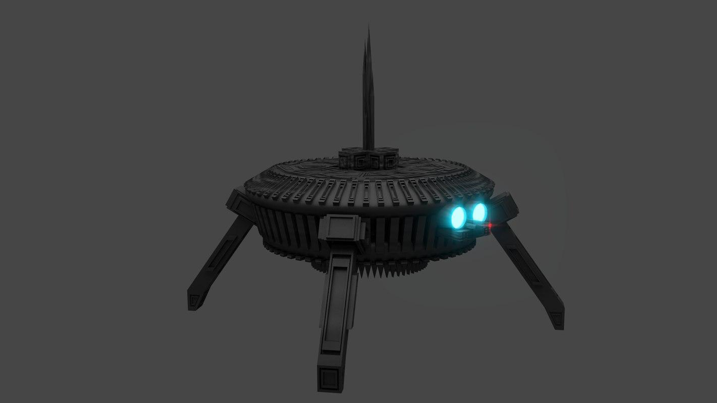 3ds small robot little