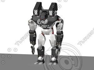 giant robot 3d max