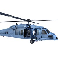 3d c4d helicopter