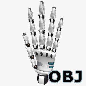 robot hand obj