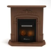 fireplace modelled 2009 obj