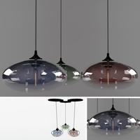3d aurora lamping model