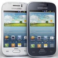 Samsung Galaxy Young S6310 Blue And White