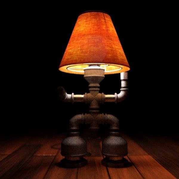 max real lamp