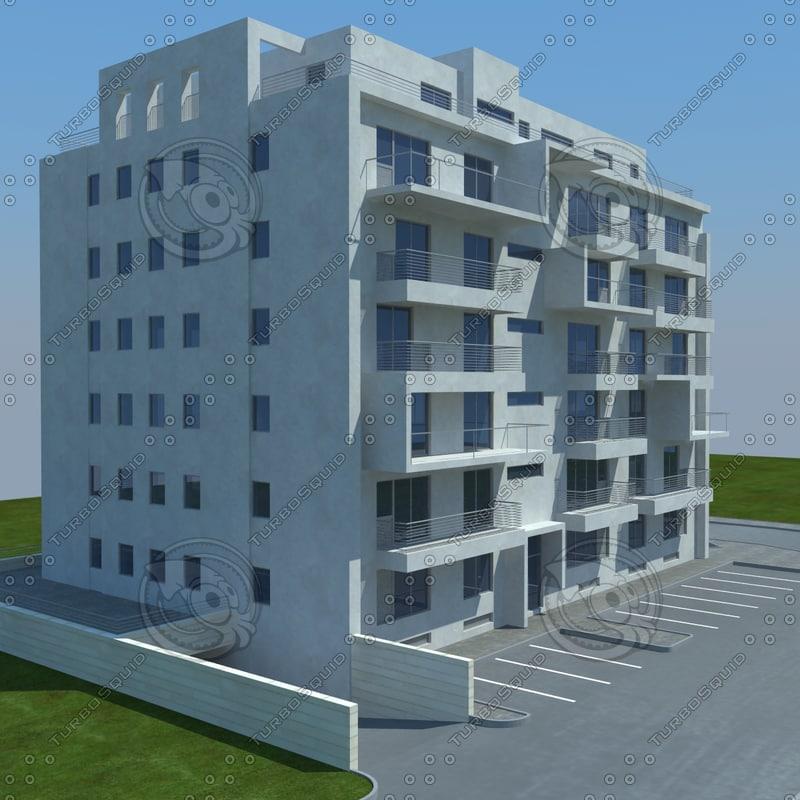 3d model buildings 1 6